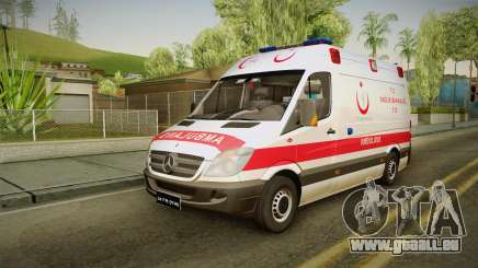 Mercedes-Benz Sprinter Turkish Ambulance pour GTA San Andreas