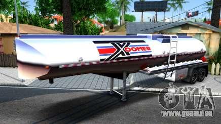 Realistic Tanker Trailer pour GTA San Andreas