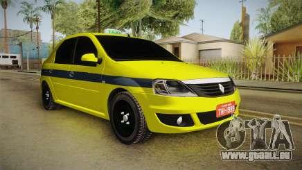 Renault Logan Taxi of Rio de Janeiro für GTA San Andreas