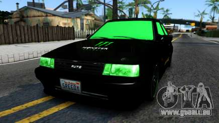 GTA 5 Karin Futo - Monster Energy für GTA San Andreas