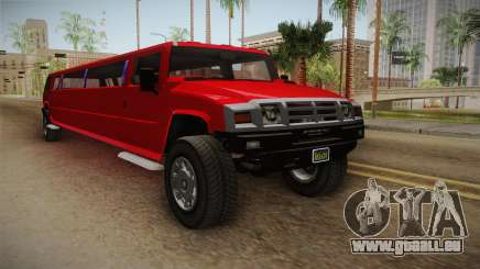 GTA 5 Mammoth Patriot Limo pour GTA San Andreas