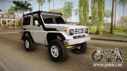 Toyota Land Cruiser Machito pour GTA San Andreas