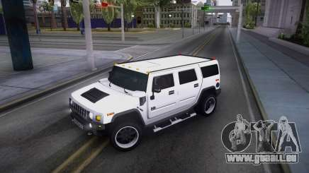 Hummer H2 Loud Sound Quality pour GTA San Andreas