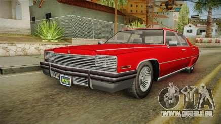 GTA 5 Albany Manana 4-doors pour GTA San Andreas