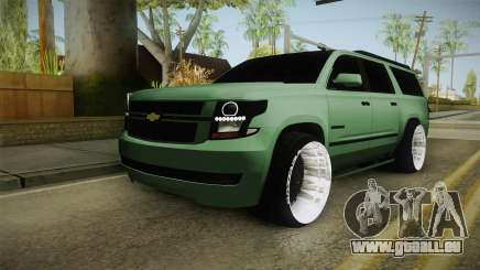 Chevrolet Tahoe GT Stance Bass Booster pour GTA San Andreas