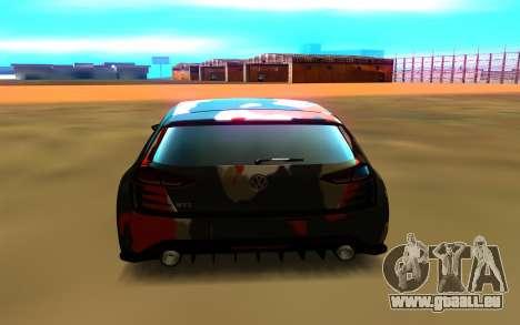 Volkswagen Golf Design Vision GTI pour GTA San Andreas vue de droite