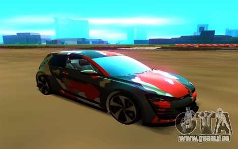 Volkswagen Golf Design Vision GTI pour GTA San Andreas
