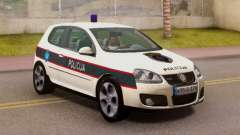 Golf V BIH Police Car V2 (Single Siren)