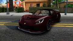 Lotus Exige Sport 350 Roadster Type 117 2014 pour GTA San Andreas