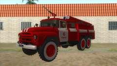 131Н ZIL AC-40 Incendie