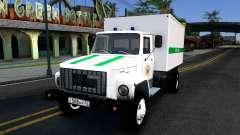 GAZ-3309 von der Bundes penitentiary service von