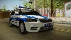 Skoda Yeti Serbischen Grenzpolizei