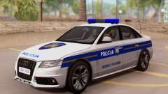 Audi S4 Croatian Police Car für GTA San Andreas