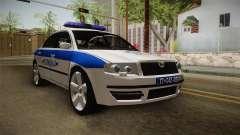 Skoda Superb Serbian Police v1 für GTA San Andreas