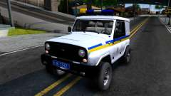 UAZ Hunter Polizei der Ukraine