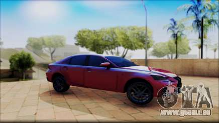 Lexus IS F 2017 pour GTA San Andreas