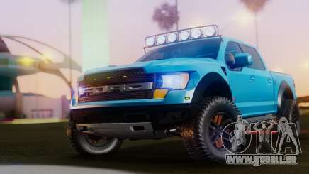 Ford F-150 Raptor LP Cars Tuning für GTA San Andreas
