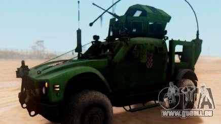 Oshkosh M-ATV-Kroatisch Gepanzerte Fahrzeuge Textur für GTA San Andreas