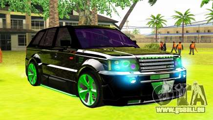 Land Rover Range Rover Sports Light Tuning pour GTA San Andreas