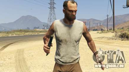 Throwing Knives 1.1 für GTA 5