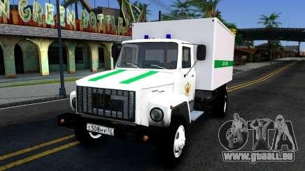 GAZ-3309 du pénitencier Fédéral service de la Russie pour GTA San Andreas