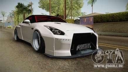 Nissan GT-R R35 Pandem Rocket Bunny für GTA San Andreas