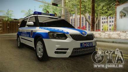 Skoda Yeti Serbischen Grenzpolizei für GTA San Andreas