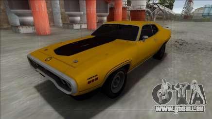 1972 Plymouth GTX pour GTA San Andreas
