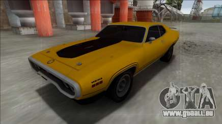 1972 Plymouth GTX für GTA San Andreas