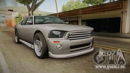 EFLC TBoGT Bravado Buffalo Supercharged für GTA San Andreas