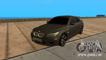 BMW M5 E60 Armenian pour GTA San Andreas