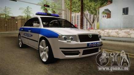 Skoda Superb Serbian Police v1 pour GTA San Andreas