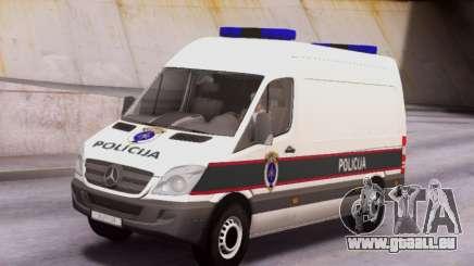 Mercedes-Benz Sprinter BIH Police Van für GTA San Andreas