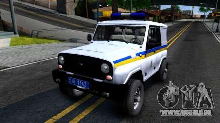 UAZ Hunter de la Police de l'Ukraine pour GTA San Andreas