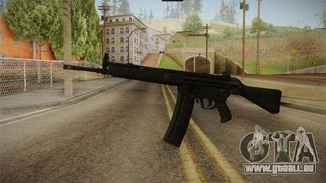 HK-33 Assault Rifle für GTA San Andreas
