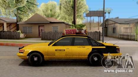 GTA IV Taxi pour GTA San Andreas laissé vue