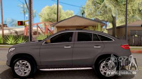 Mercedes-Benz GLE 350d für GTA San Andreas linke Ansicht