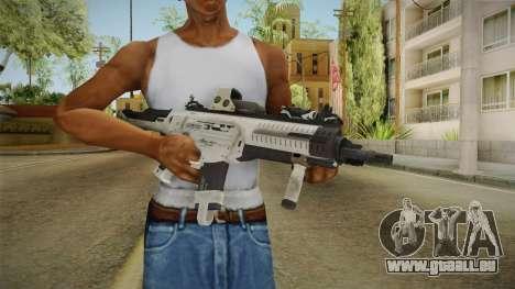 CoD: Ghosts - ARX-160 Holographic für GTA San Andreas dritten Screenshot