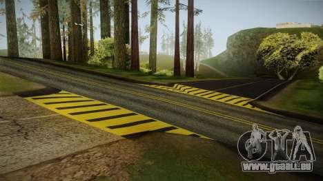 8K Country Road Textures pour GTA San Andreas deuxième écran