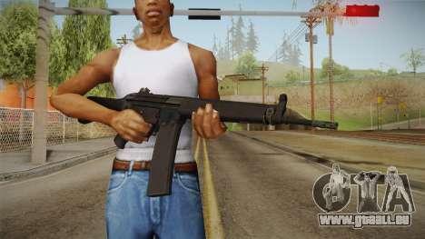 HK-33 Assault Rifle für GTA San Andreas dritten Screenshot