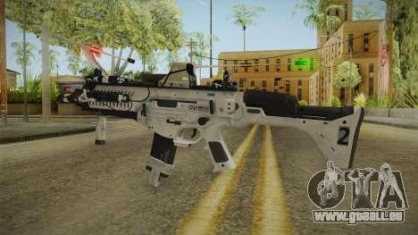 CoD: Ghosts - ARX-160 Holographic für GTA San Andreas zweiten Screenshot