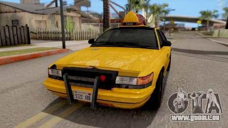 GTA IV Taxi pour GTA San Andreas