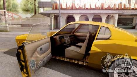 Driver PL Brooklyn pour GTA San Andreas vue intérieure
