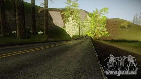 8K Country Road Textures pour GTA San Andreas troisième écran