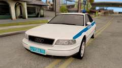 Audi A8 Russian Police