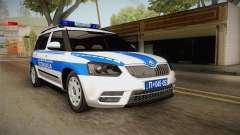 Skoda Yeti Serbian Traffic Police