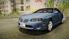 Pontiac GTO Tunable pour GTA San Andreas