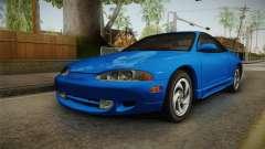Mitsubishi Eclipse GSX 1995 Dirt HQLM für GTA San Andreas