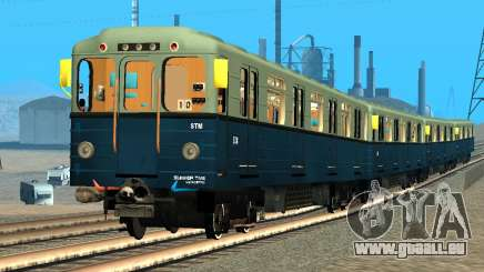 Metrostav type de Hérisson pour GTA San Andreas
