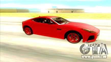 Jaguar F Type SVR für GTA San Andreas